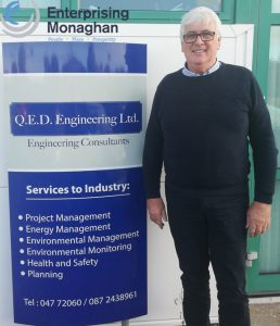 Hugh Doherty Of Q.E.D Environmental & Engineering Consultancy.